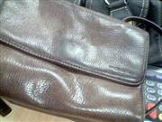 FOSSIL PURSE LEATHER
